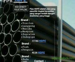 Pipa Hitam HDPE Termurah dan Terbaru