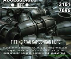 Jual sambungan pipa hdpe Jawa Timur