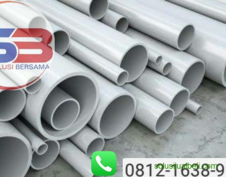 """Pipa PVC Standart AW Ukuran 3/4"""" - 2"""