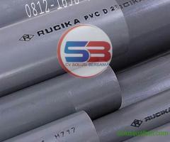 Pipa PVC Standart AW ukuran 1/2 4M/Batang