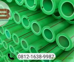 PIpa PPR Rucika 4 meter / batang, ukuran 1/2 inch PN 10
